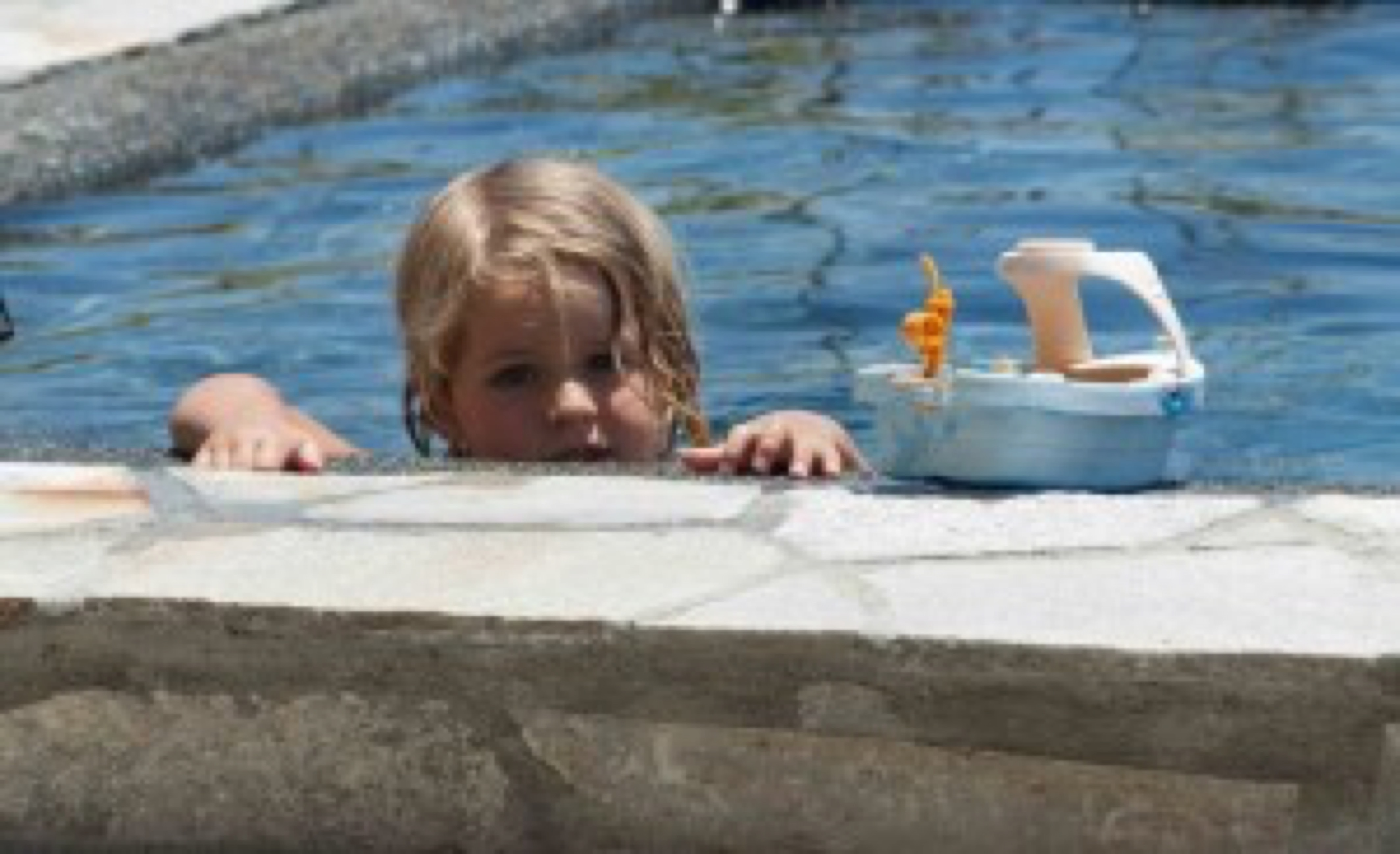 blog image - child in pool
