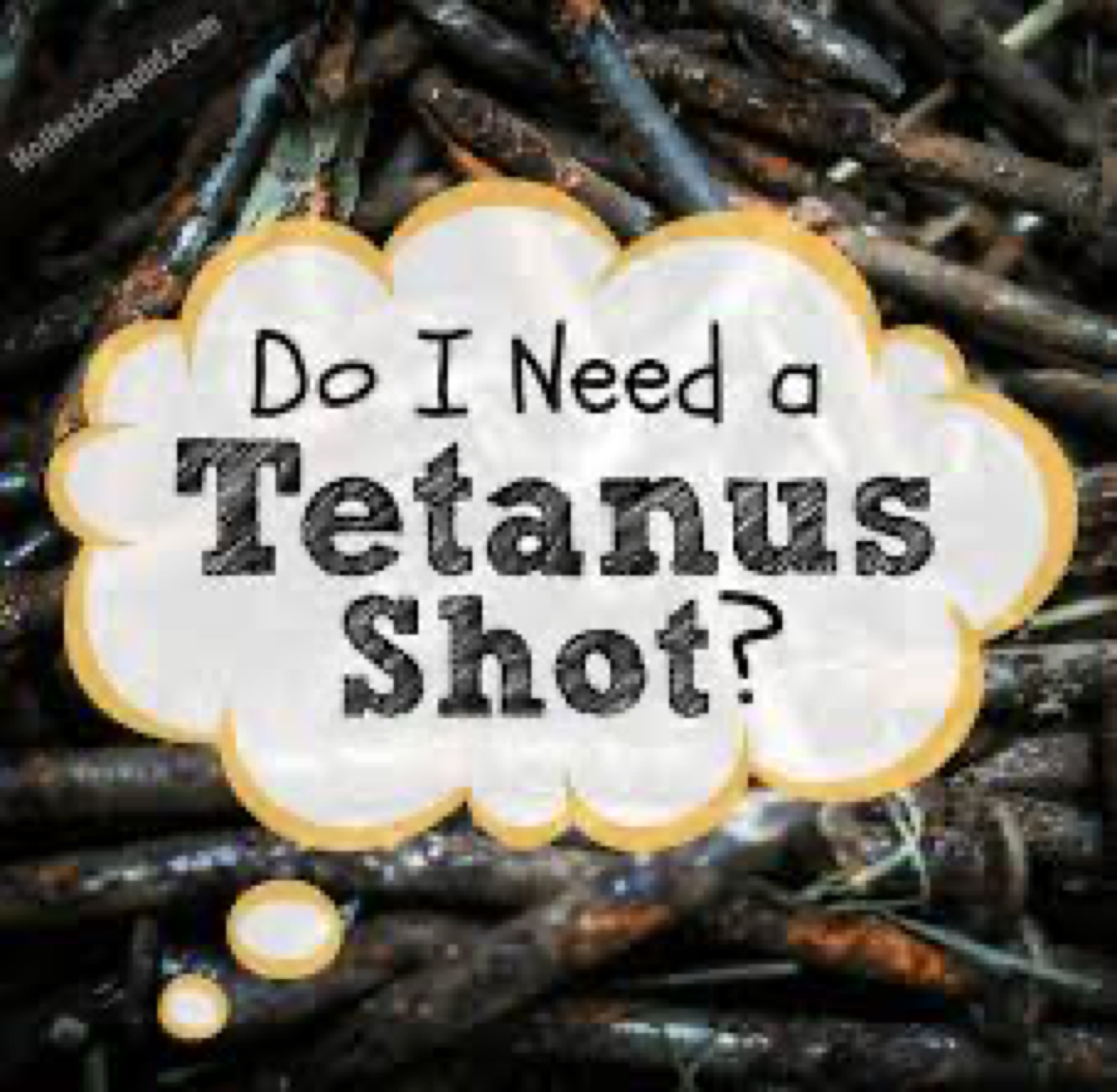 Blog image - Tetanus do I need