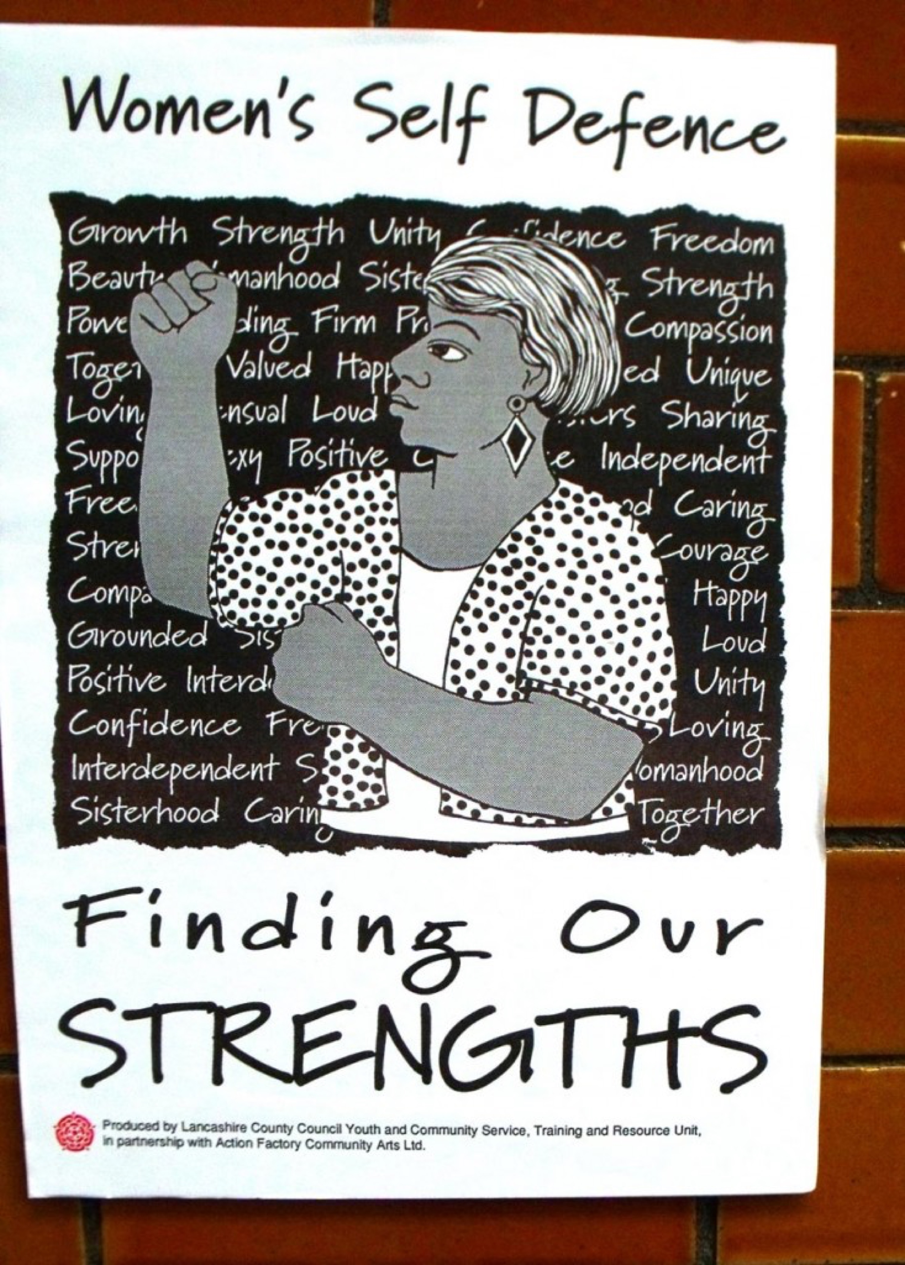 blog image - self defence poster