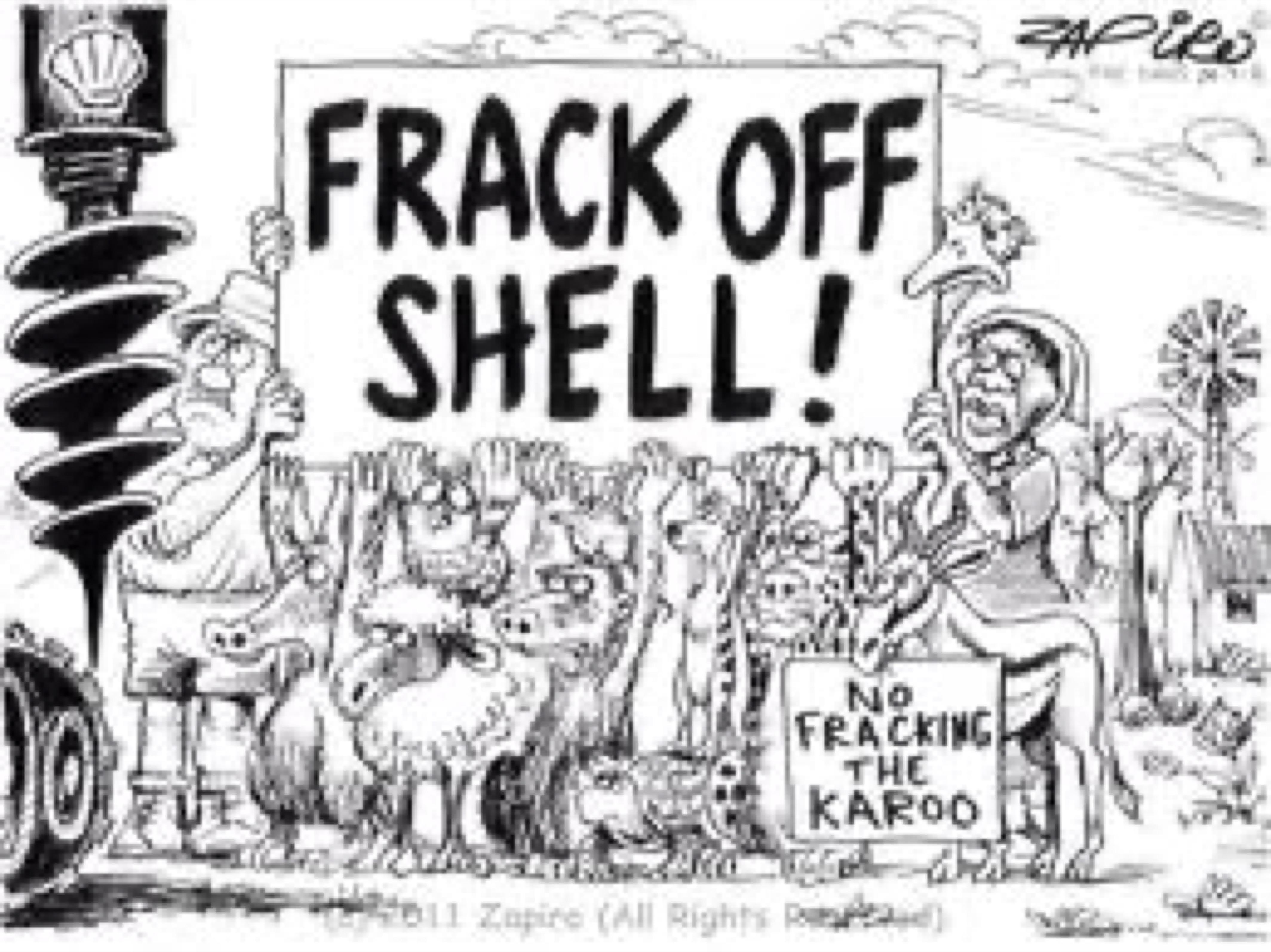 fracking karoo