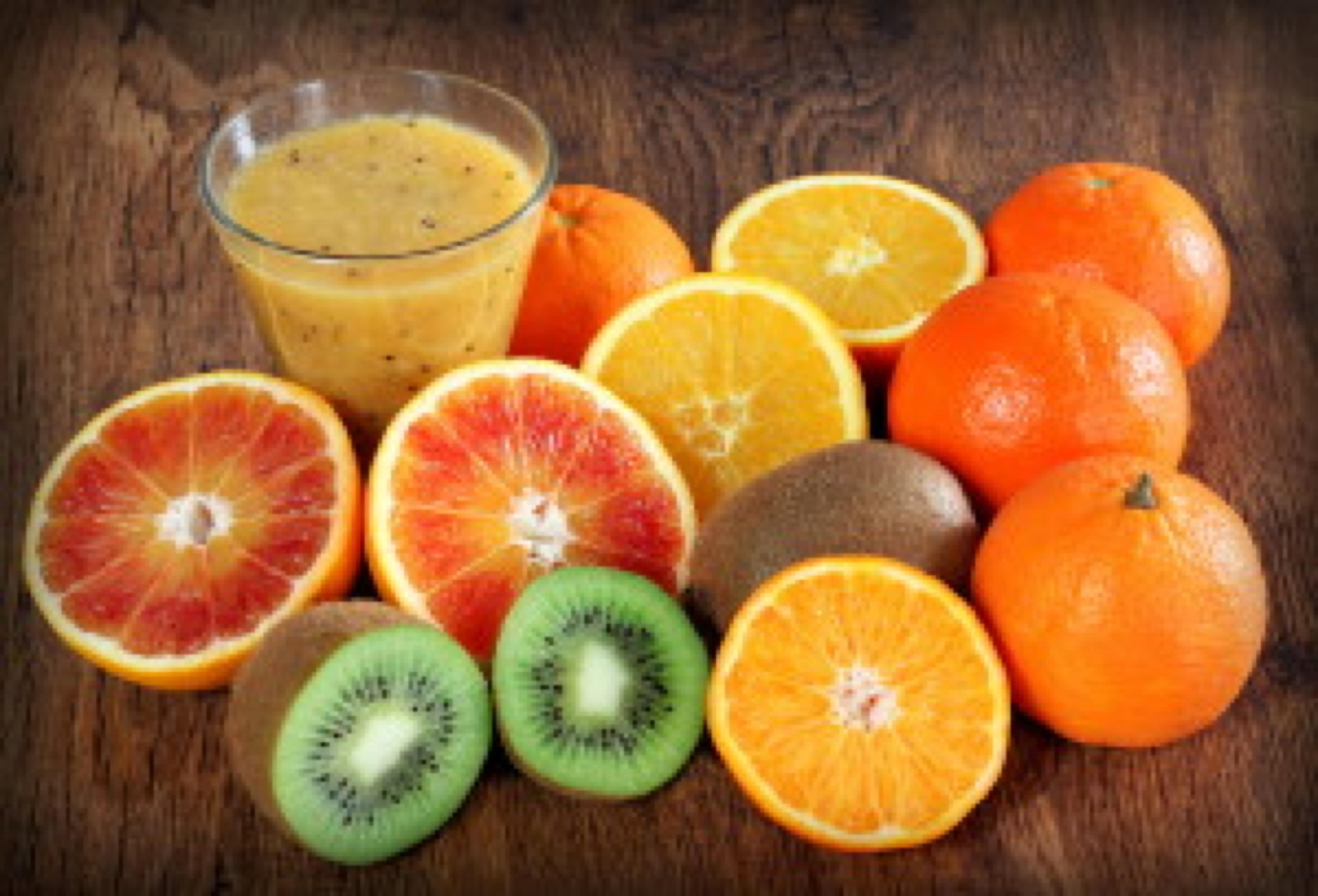 frullato di arance e kiwi