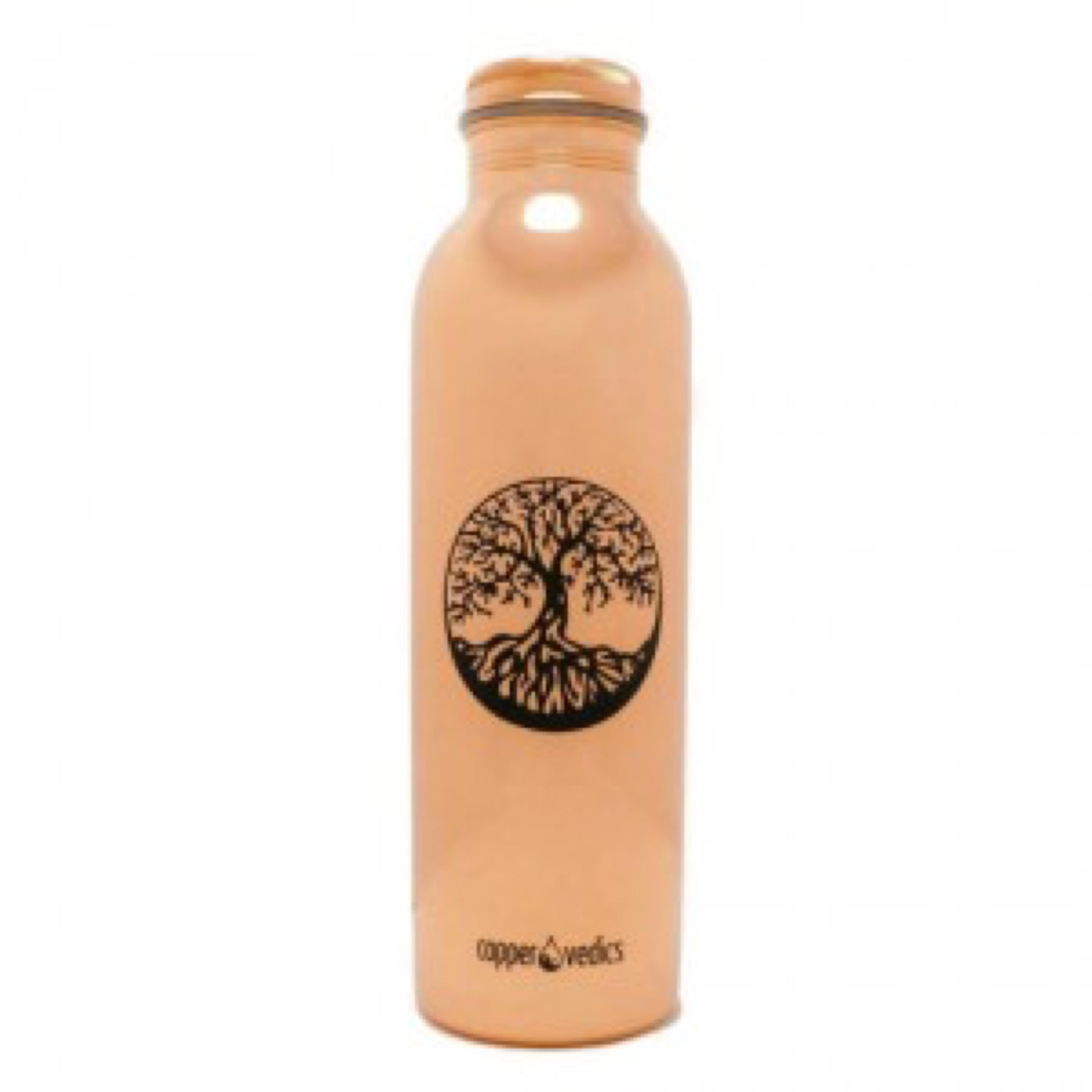 tree of life copper bottle