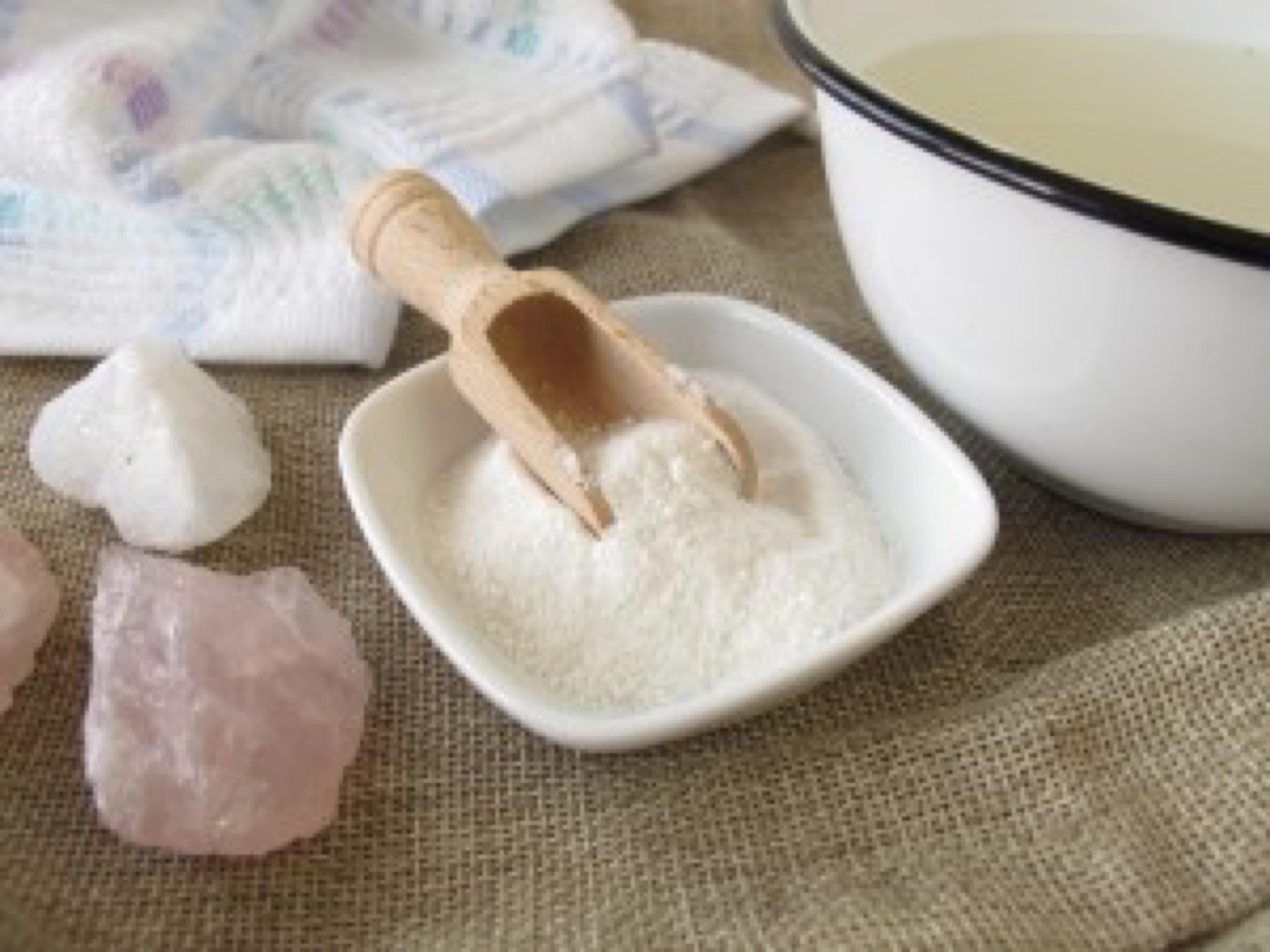 Alkaline bath salt - Basisches Badesalz